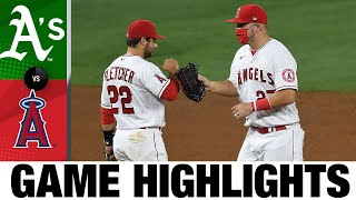 Dylan Bundy and 'pen shutdown the A's | Athletics-Angels Game Highlights 8/11/20