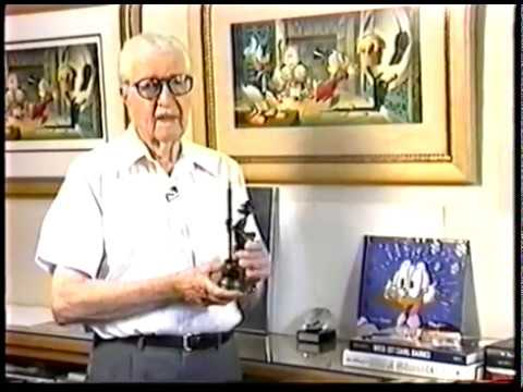 Carl Barks Barkster Figurine (Diamond Comic Distributors VHS ~ 1994)