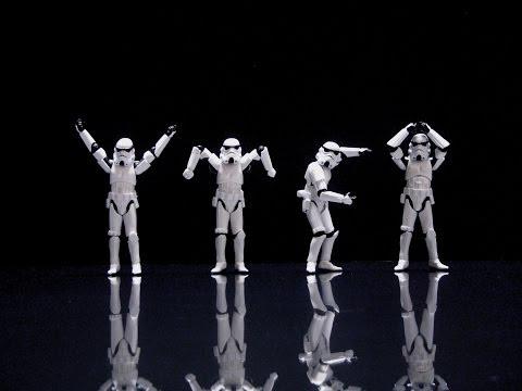 Stormtroopers dance YMCA