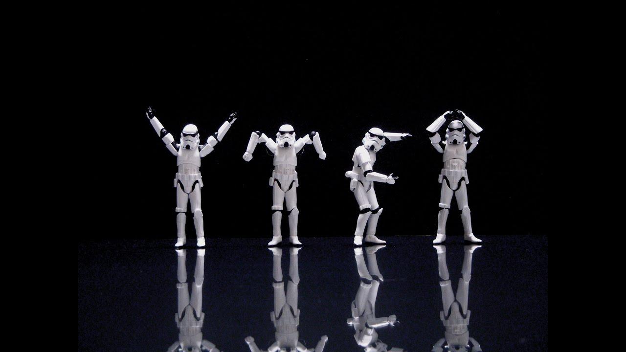 stormtroopers dance ymca youtube