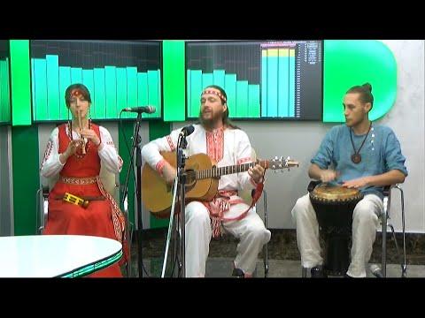 """Светозар и группа """"Аурамира"""" в Комсомольске-на-Амуре на """"Радио 2"""""""