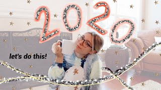 how i'm making 2020 my year // goals, resolutions + releasing my insecurities