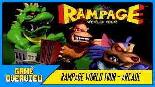 Game OverView - Rampage World Tour