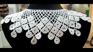 Как Связать Воротник Крючком? - варианты работ - 2019 / How to Knit Collar Crochet?