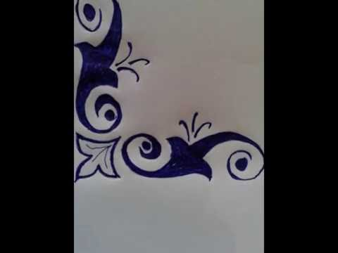 How to decorate front page of your copy free hand for Assignment first page decoration
