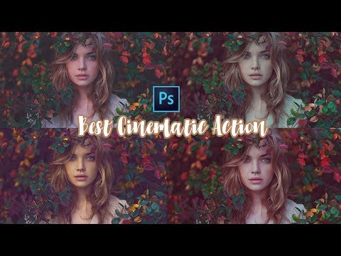 Photoshop Tutorial : TOP 5 CINEMATIC PHOTOSHOP ACTION OF 2019 FREE !! thumbnail