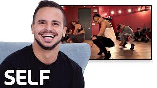 Yanis Marshall Reviews the Internet's Biggest Viral Dance Videos   SELF