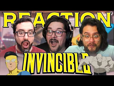 Invincible 1x05 Reaction - That Actually Hurt - Heroes Reforged