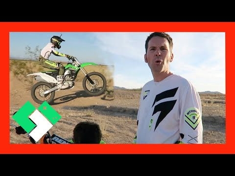 DIRT BIKE RUNS OUT OF GAS! (Day 1502)