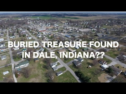 BURIED TREASURE FOUND IN INDIANA!!?!