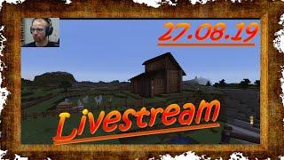 Livestream vom 27.08.19 - Ein Ründchen Minecraft mit Alpakas