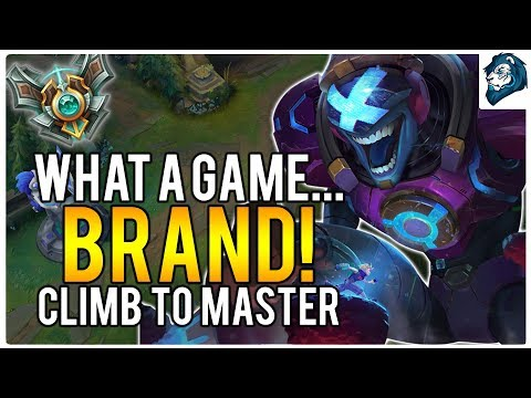 WHAT A GAME... BRAND! - Climb to Masters | League of Legends