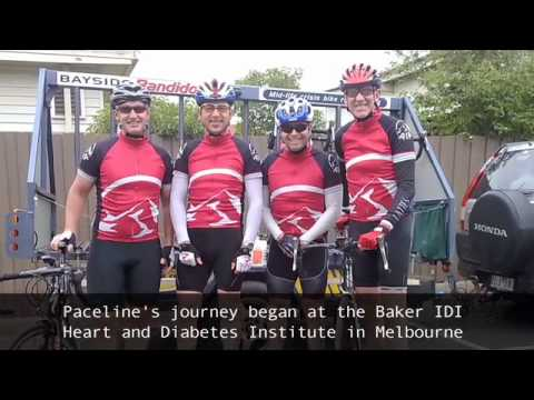 Paceline Melbourne to Sydney charity ride