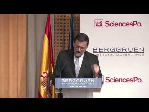 Europe Next Steps, Paris, Closing Keynote: Mariano Rajoy, President of Government of Spain