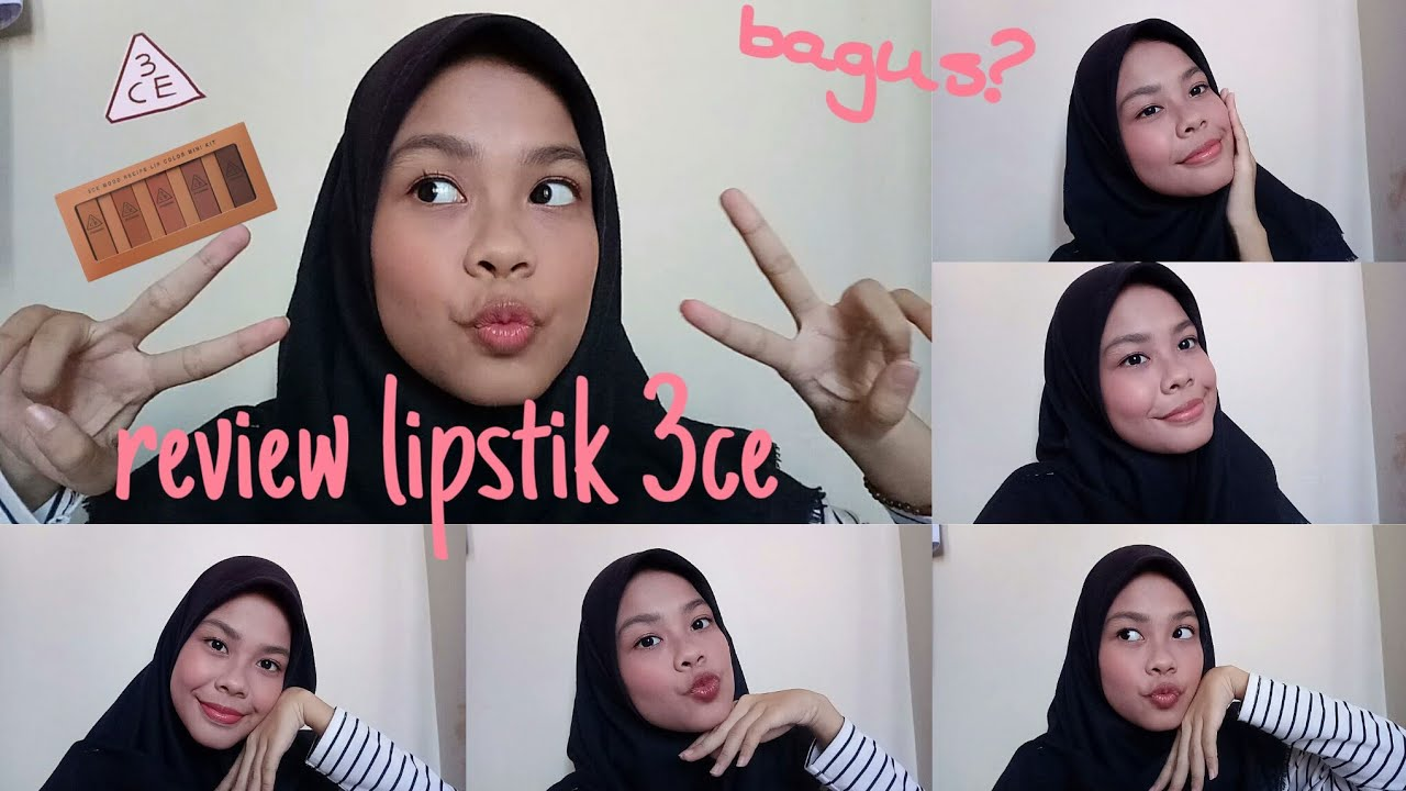 #lipstik3ce #lipstik REVIEW LIPSATIK 3CE|APAKAH BAGUS