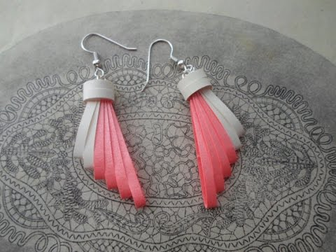 Paper Earrings How To Make Beautiful Quilling Using And Comb Making Tutorial