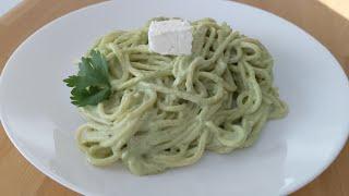 Spaghetti poblano delicioso ! pasta cremosa y fácil.