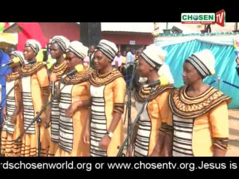 The Lord's Chosen South African Choir and other Choir ministrations