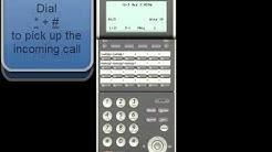 NEC SV9300 การจัดกลุ่มรับสายแทนกัน Call Pick Up Group