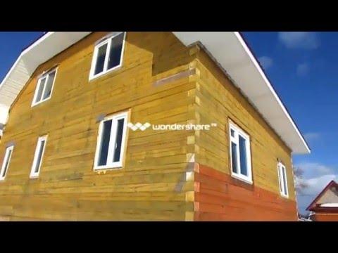 Дом из бруса своими руками