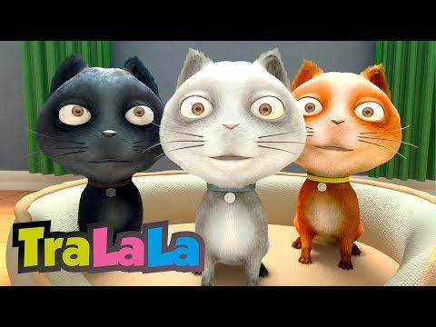 Trei pisicuțe - Cântece pentru copii | TraLaLa