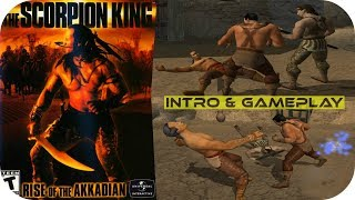 The Scorpion King: Rise of the Akkadian - Intro & Gameplay Moments - Playstation 2 HD