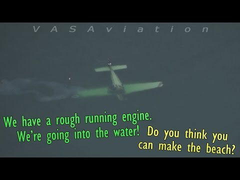 [REAL ATC] Bonanza DITCHES near LONG ISLAND   BOTH SURVIVED!