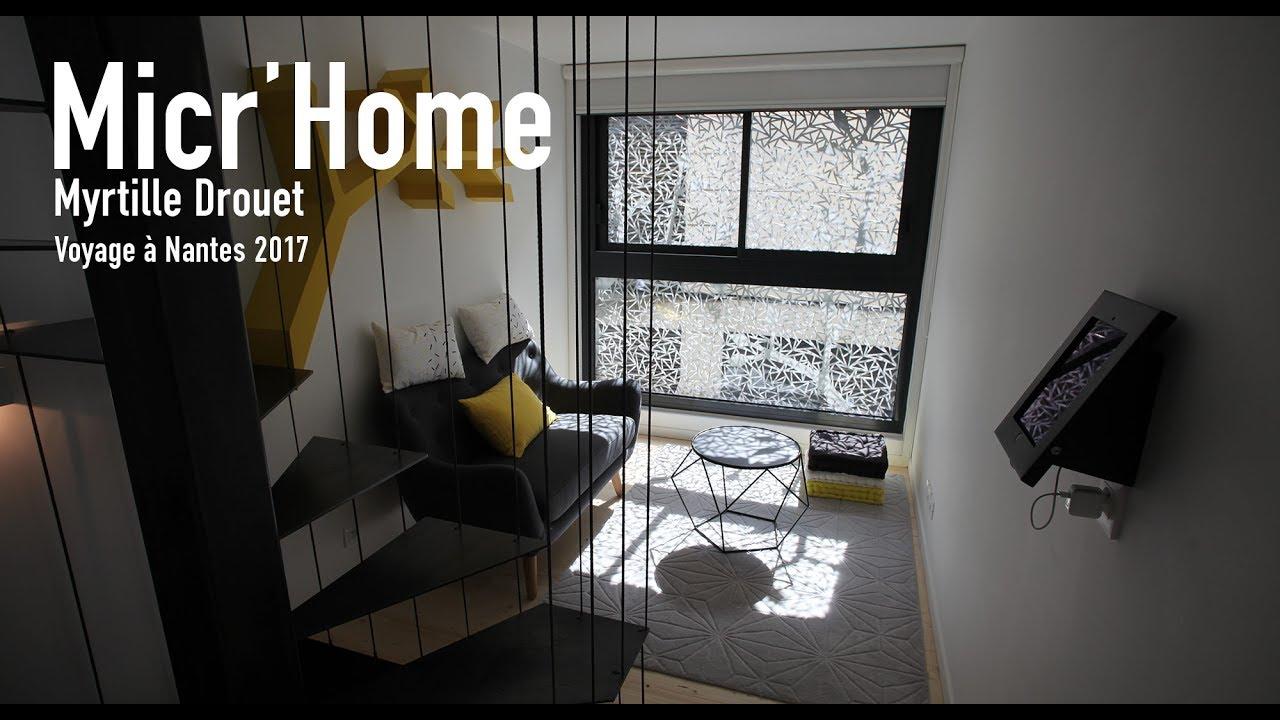 micr 39 home une exp rience architecturale du voyage nantes youtube. Black Bedroom Furniture Sets. Home Design Ideas