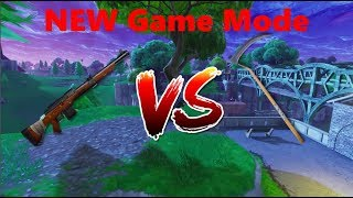 Hunting Rifle Vs  PickAxe New FortNite Battle Royale Mode