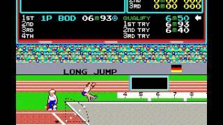 Arcade Game: Track & Field (1983 Konami)