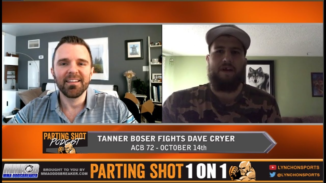 Tanner Boser talks ACB 72 fight, training with Arjan Bhullar and fake self-defence instructors