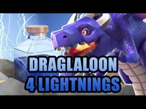 ZAP DRAGONS! DRAGLALOONS! OP ARMY FOR TOWN HALL 10! FORGET ABOUT BATS! GOOD TACTICS FOR ALL BASES!