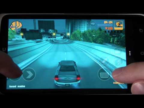 Игра в GTA III на HTC One X