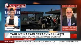 Enis Berberoğlu tahliye edildi! Eşi gözyaşlarını tutamadı / Mehmet Durakoğlu