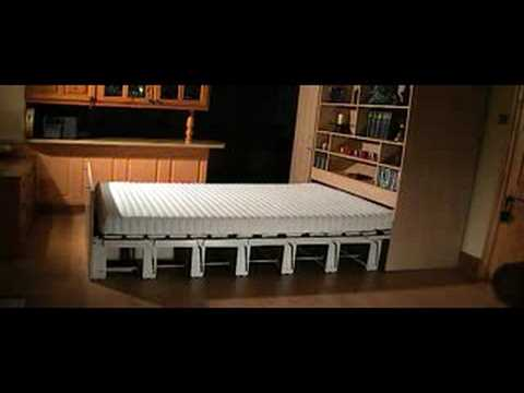 concealed bed - youtube