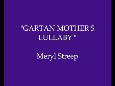 Meryl Streep singing