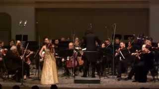 НФОР и Александра Сумм (скрипка, Франция)