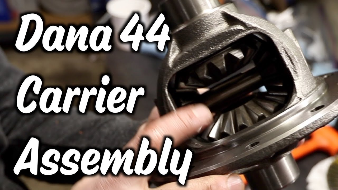 3 25 - Dana 44 carrier assembly - Part 7 of Gears of and Axles