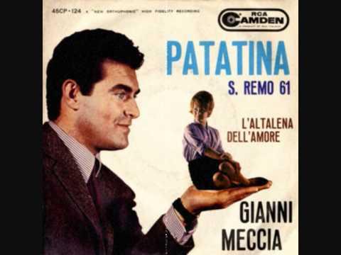 Gianni Meccia - Patatina (Spot Patasnella) Sanremo 1961