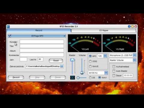 MP3 audio recorder