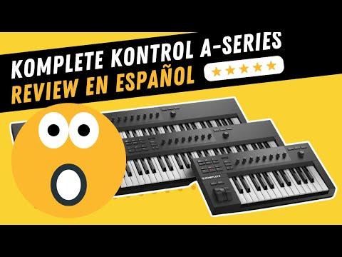 NATIVE INSTRUMENTS KOMPLETE KONTROL A25 / A49 / A61 ❌ Unboxing & Review (Español)