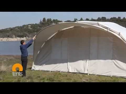 Luxury Handcrafted Glamping tent in 15 minutes!, watch Ctents assembly