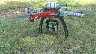 GoPro HD Hero Camera Mount for Quadrocopter