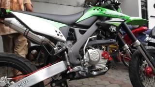 Knalpot TNHM KLX150 D Tracker 150 by wendy kurniawan
