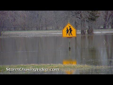 3/18/2015 Carmi, IL Little Wabash River Flooding