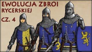 Ewolucja Zbroi Rycerskiej cz.4 - Historia Na Szybko