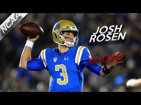 Josh Rosen Highlights vs USC // 32/52 421 Yards, 3 TDs // 11.18.17