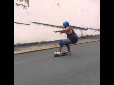 Power slide at Caracas, Venezuela via ZonedIn Beginner Level 1 Donnie Perez