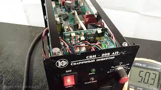 R007 Инвертор негізгі техникалық көрсеткіштер КАЛИБР SVI205AP remont setevoj зарплаты