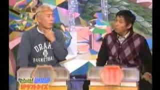 Takeshi Kaneshiro surpise guest Japanese talk show - Part 1